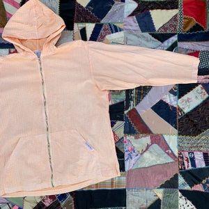 Vintage 80s Fresh Produce Gingham Jacket